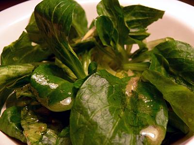 Feldsalat mit fruchtiger Vinaigrette